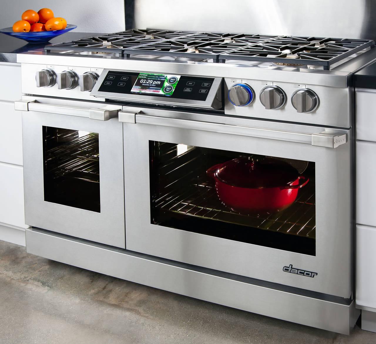 Dacor Discovery iQ 48, la primer cocina inteligente con una interfaz ...