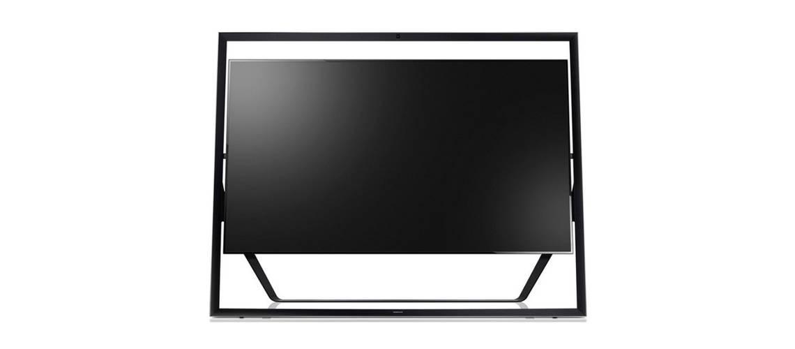 Samsung S9 UHD TV, el televisor 4K de 85 pulgadas que cuelga de un ...