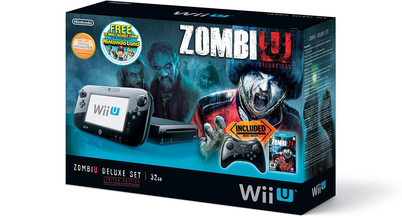 Nintendo Lanza El Wii U Zombiu Deluxe Set Por 389 99 Bytetotal